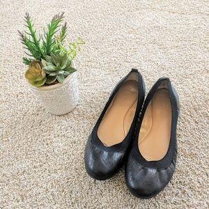 🧡 Black Banana Republic Comfy Flats